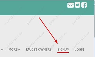 FaucetHub кошелёк. Регистрация