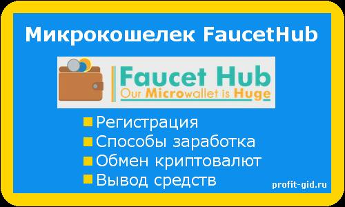 Fausethub: регистрация, способы заработка, обмен, вывод